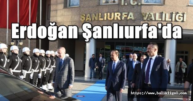 Şanlıurfa'da Erdoğan Sürprizi! Sessiz Sedasız Geldi
