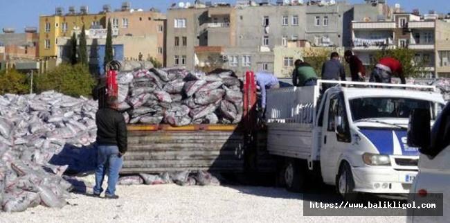 Şanlıurfa'da kış hazırlıkları kömürle başladı