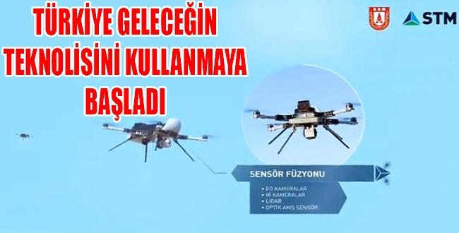 Türkiye geleceğin savaş teknoloijisi KERKES'e hazır