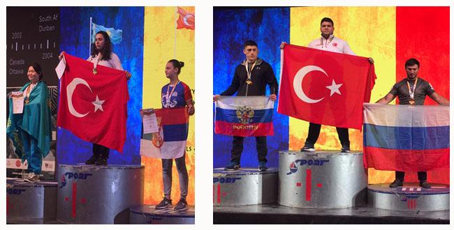 Türkiye Dünya Bilek Güreşi Şampiyonasında Tarihi Başarı Elde Etti