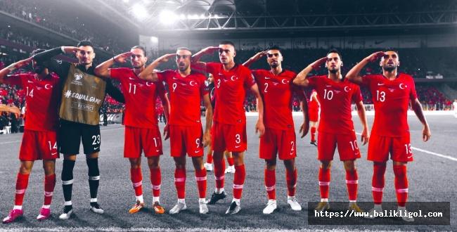Türkiye Milli Takımı EURO 2020'yı Garantiledi