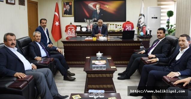 Urfa İl Koordinatörü Karasayar'dan Hilvan Belediyesine Ziyaret