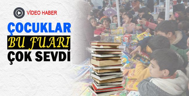 Urfalı Çocuklar Kitap Fuarını Çok Sevdi