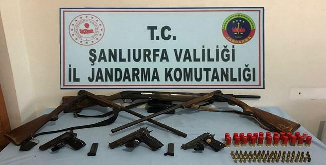 Viranşehir'de Silah Operasyonu: 4 Gözaltı