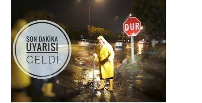Büyükşehir Belediyesi'ne flaş uyarı: Sel Baskını Olabilir!