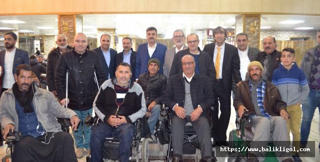 Eyyübiye Belediyesi Engelliler İçin Program Düzenledi