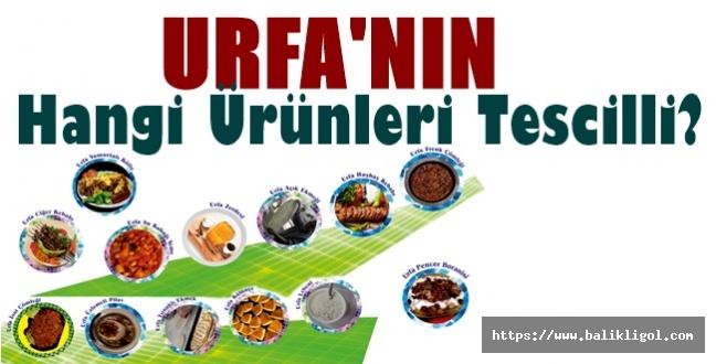 Şanlıurfa'nın Hangi Ürünleri Tescilli? Hangi Ürün Hangi Tarihte Tescillendi?