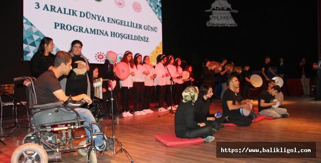Urfa'da Engelliler Unutulmadı