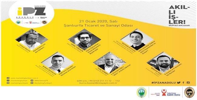 Anadolu İnteraktif Pazarlama Zirvesi Urfa'da Yapılacak