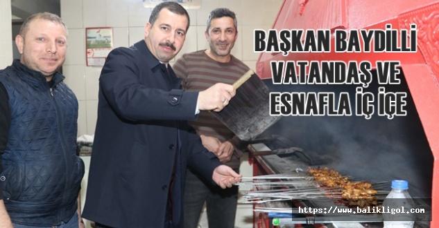 Esnaf Ziyaretine Çıkan Belediye Başkanı Ciğer Yelledi
