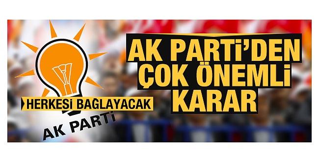 Etik Kurallar Belirlenecek! AK Parti Çalışma Başlattı