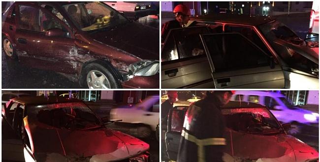 Karaköprü'de Trafik Kazası: 3 Yaralı