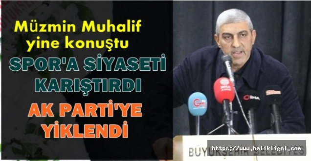 Mehmet Cafer'in Konuşması Tepki Çekti