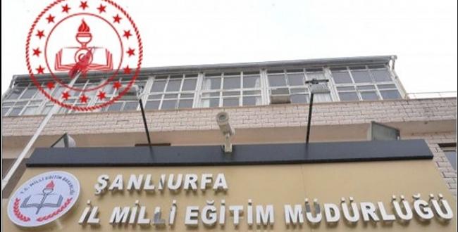 Şanlıurfa Milli Eğitim Müdürlüğünde 3 Müdür Değişti