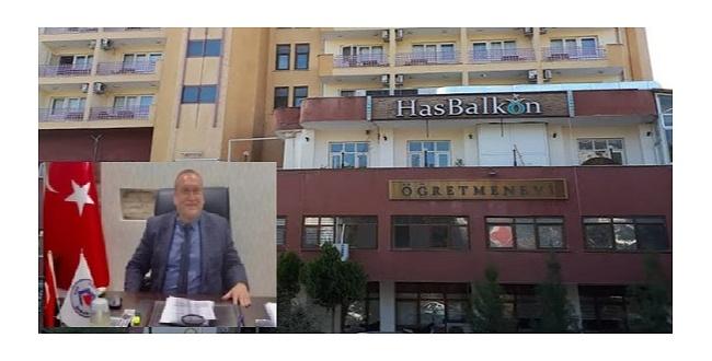 Şanlıurfa öğretmenevi'nin yeni müdürü Mehmet Kılıç oldu