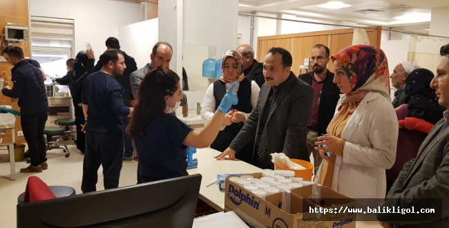 Şanlıurfa İl Sağlık Müdürü Erkuş, Hastanelerde İncelemelerde Bulundu