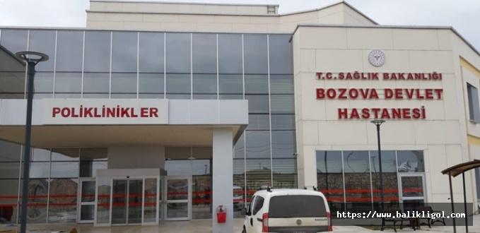 Bozova'da Yeni Binada Hasta Kabulü Başladı