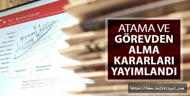 Cumhurbaşkanlığı Kararıyla Urfa İl Müdürü Görevden Alındı