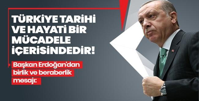 Erdoğan Sosyal Medyadan Duyurdu: Hiçbir ihaneti unutmayacağız