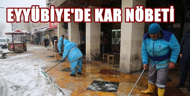Eyyübiye Belediyesinin Karla Mücadelesi Tam Not Aldı