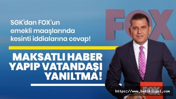 FOX Tv Bir Kuyuya Taş Attı Tüm Türkiye Çıkaramıyor