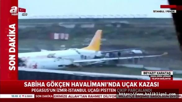 İstanbul'daki Uçak Kazasından 3 Kişi Öldü