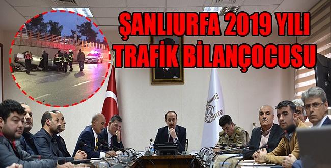 İşte Şanlıurfa'da 2019 yılında kesilen trafik cezaları