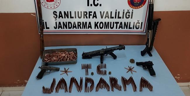 Suruç'ta Silah Kaçakçılarına Operasyon: 3 Kişiye Gözaltı