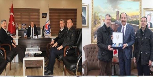 TİNGADER Başkan Yardımcısı Aktürk'ten Vali Ve Belediye Başkanına Ziyaret!