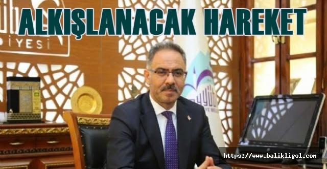 Başkan Mehmet Kuş'ta 1 Maaşını Bağışladı
