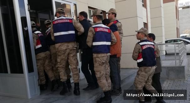 Bozova'da BOTAŞ Boru Hattından Petrol Çalan Çeteye Operasyon
