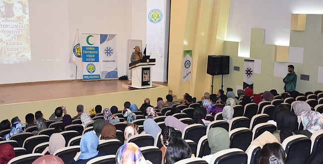 Cihan Aktaş Urfa'da Toplumsal Cinsiyeti Anlattı