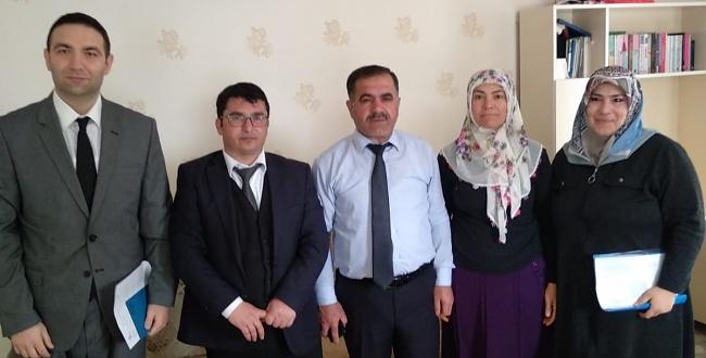 Haliliye Kaymakamı Metin Esen'den Şehit Ailelerine ziyaret