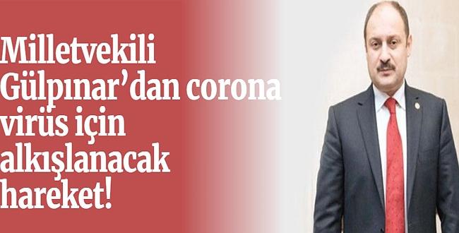 Kasım Gülpınar corona virüsle mücadele için 3 maaşını bağışladı