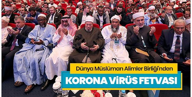 Müslüman Alimler Birliğin'den Corona Açıklaması: Cuma Namazını Durdurun