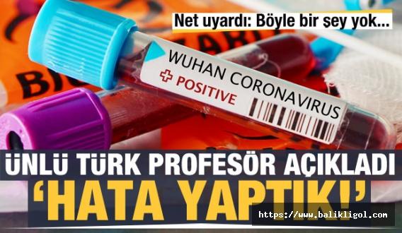 Prof. Ceylan: Tuzla Gargara Yaparak, Türk'e Az Bulaşır Diyerek Hata Yaptık