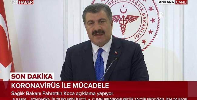 Sağlık Bakanı Bilim Kurulu Sonrası Açıklamalarda Bulundu
