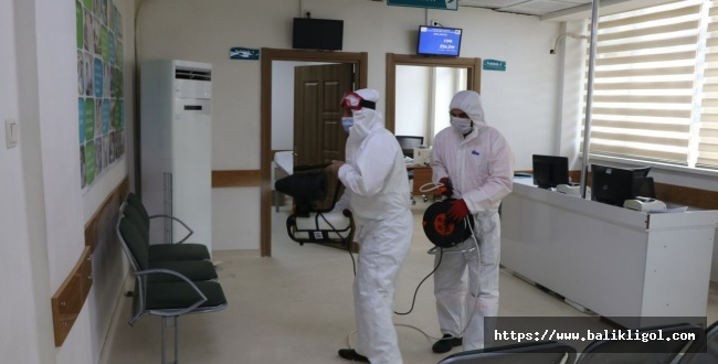 Şanlıurfa Büyükşehir Belediyesi Dezenfekte Çalışmalarını Sürdüyor