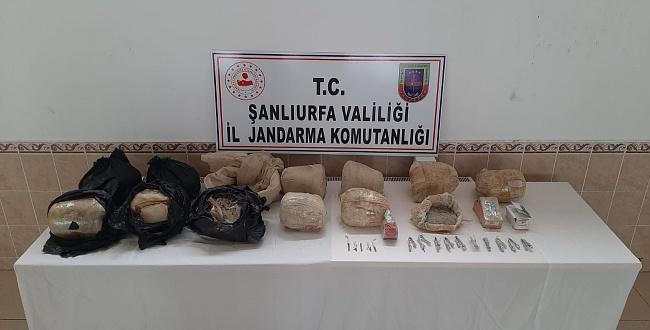 Siverek'te Toprağa Gömülü TNT Patlayıcı Ele Geçirildi