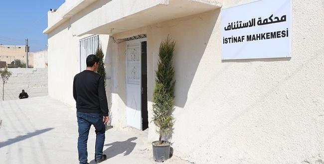 Telabyad'da Adliye Binası Hizmete Girdi