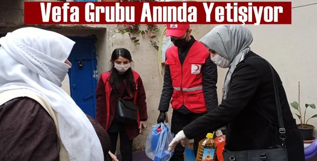 Urfa'da Vefa Sosyal Destek Grubu Yüzlerce Vatandaşın İmdadına Yetişti