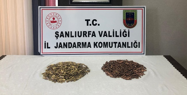 Viranşehir'de Piyade Tüfeğine Ait Fişek Ele Geçirildi
