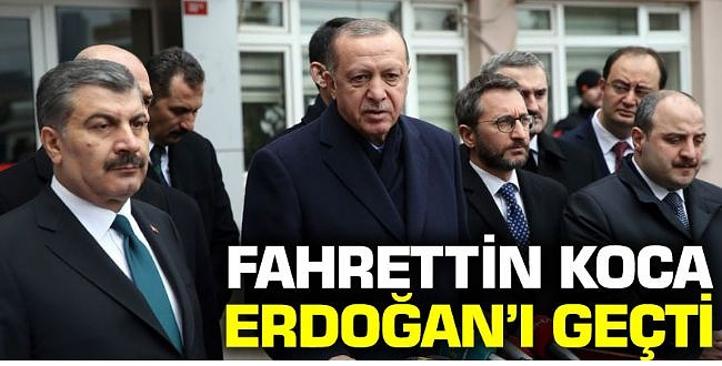 Bakan Koca'nın Takipçi Sayısı Erdoğan'ı Geçti