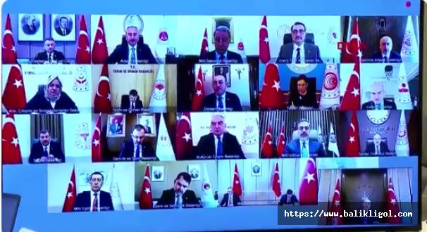 Erdoğan Kabinesini Topladı