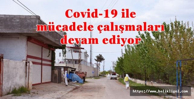 Hilvan'da Covid-19 İçin Dezenfekte Çalışmaları Devam Ediyor