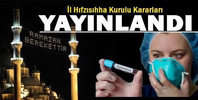 Ramazan Ayına Koronavirüs Ayarı Verildi