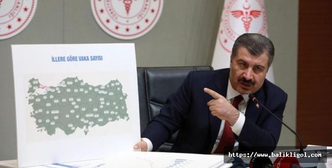 Sağlık Bakanı Koca, Virüsün Yayılma Şeklini Açıkladı