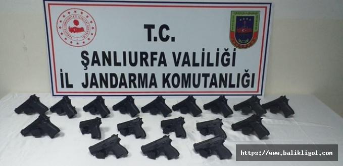 Urfa'da Silah Kaçakçılarına Operasyon: 1 Kişi Tutuklandı