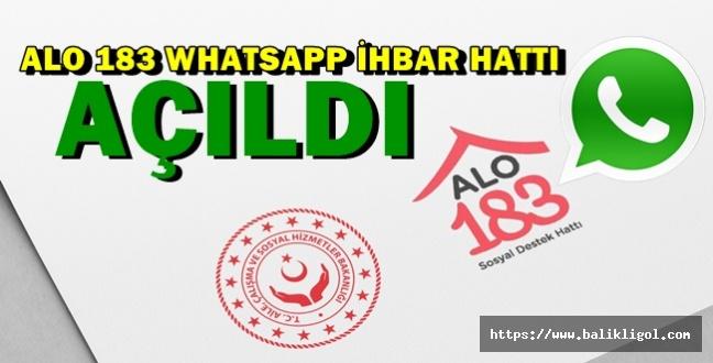 Bakanlık Hat Oluşturdu! 183'e Whatsapp Üzerinden Ulaşabilirsiniz