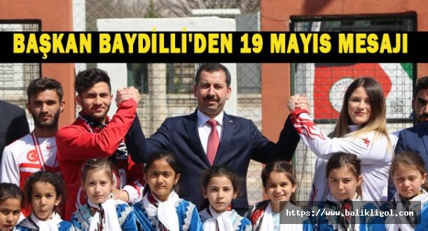 Başkan Baydilli, 19 Mayıs'ta Gençlerin Yanında